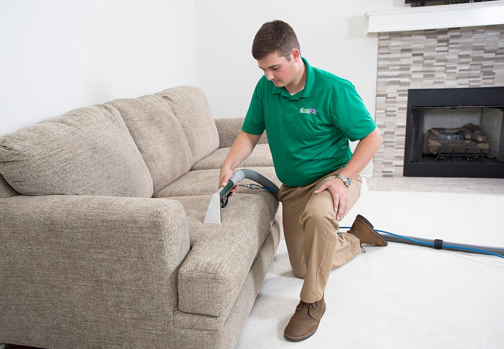 Carpet and upholstery cleaning by Chem-Dry removes 98% of allergens and 89% of airborne bacteria for a healthier home